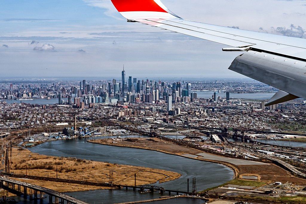 """New York Flight View"""