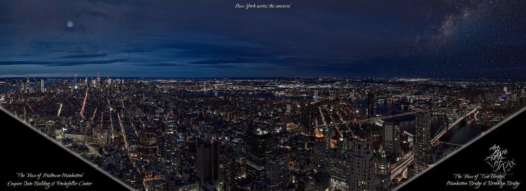 """New York across the universe"""