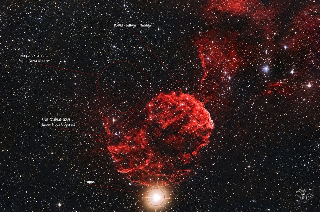 """IC443 - Jellyfish Nebula"""