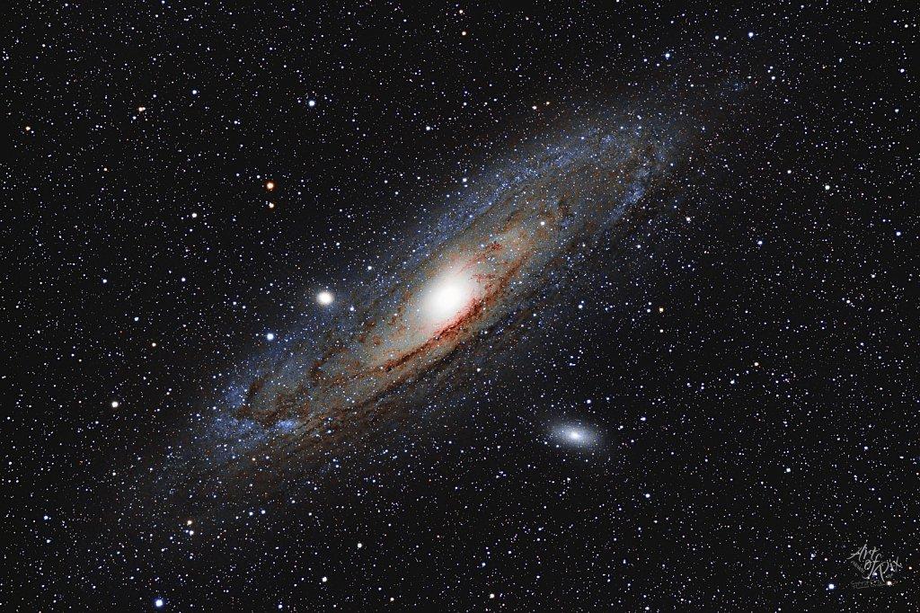 """M31 - Andromedagalaxie"""