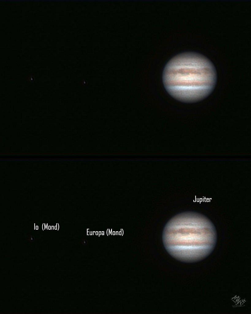"""""""Jupiter,  Io  & Europa"""""""