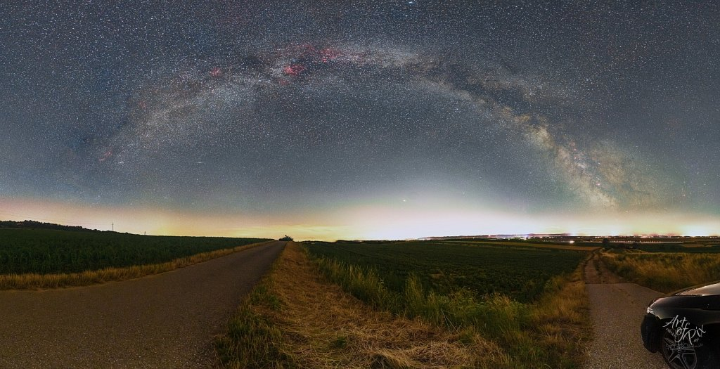 """""""Milkyway - from North to South""""- Das Milchstra"""
