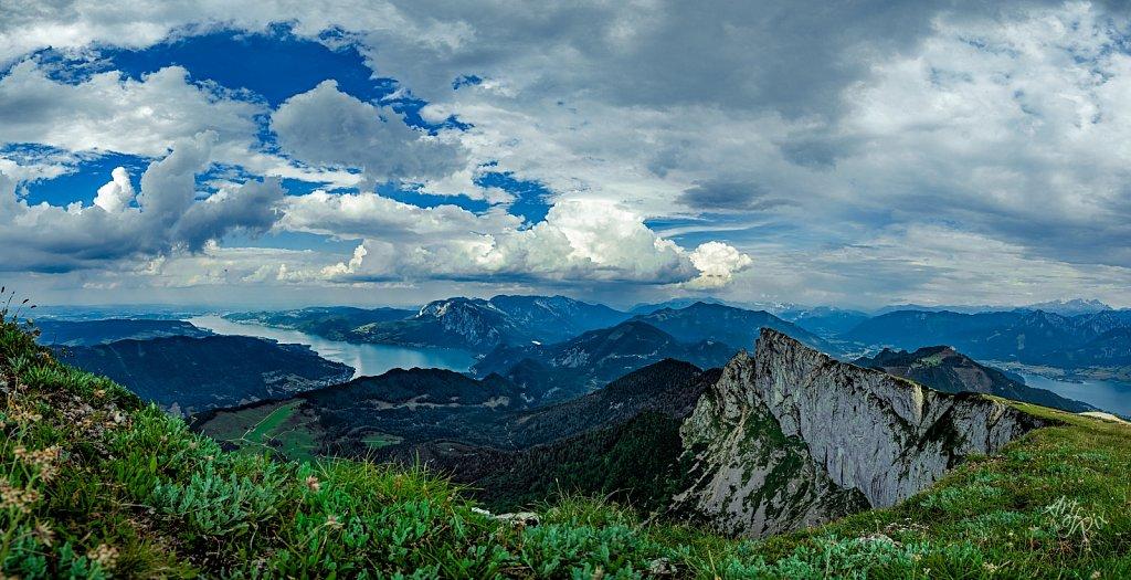Schafbergkante am Wolfgangsee & Panoramen
