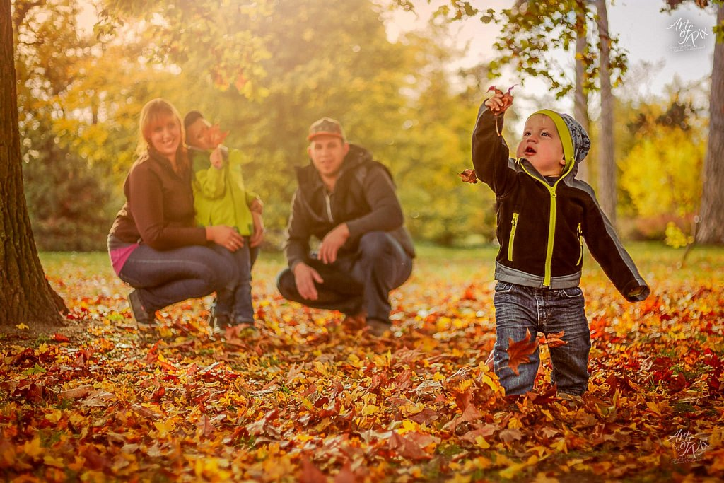 """A Family´s Day in Autumn"""