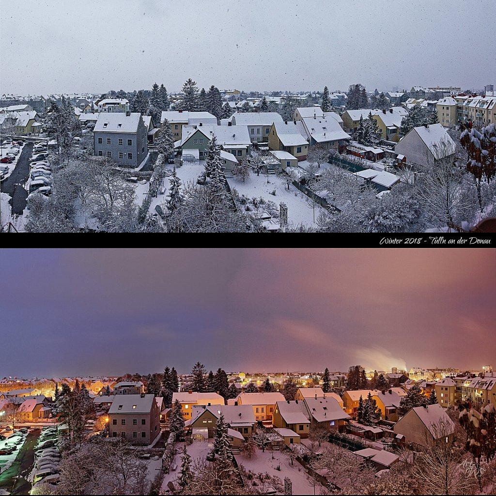 """""""Snowy Tulln, Austria"""""""