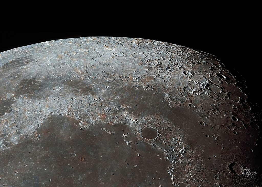 """Zoom to the moon"" Part V - Mare Imbrium"